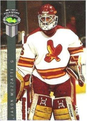 Muzzatti, Jason / Salt Lake Golden Eagles (1992) / Classic #221 (Hockey Card) / Four Sport Draft Pick Collection