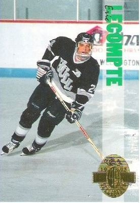 Lecompte, Eric / Hull Olympiques (1993) / Classic #205 (Hockey Card) / Four Sport Collection