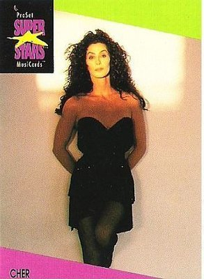 Cher / ProSet SuperStars MusiCards #38 | Music Trading Card (1991)
