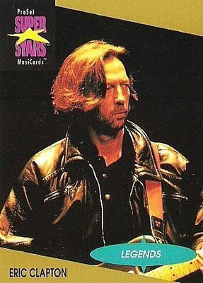Clapton, Eric / ProSet SuperStars MusiCards #2 / Legends Series | Music Trading Card (1991)