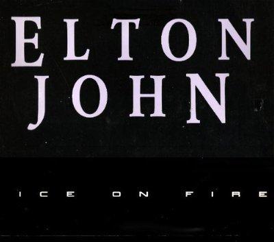 John, Elton / Ice On Fire (1985) / Promo (Album Flat)