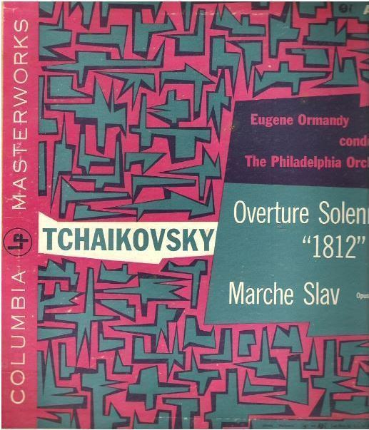"Ormandy, Eugene (+ Philadelphia Orchestra) / Tchaikovsky: Overture Solennelle ""1812"", Op. 49 / Columbia Masterworks AAL-24 (Album, 10"" Vinyl)"