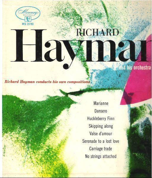 "Hayman, Richard / Richard Hayman Conducts His Own Compositions (1954) / Mercury MG-25190 (Album, 10"" Vinyl)"