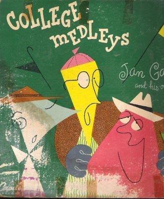 Garber, Jan / College Medleys (1950) / Capitol H-154 (Album, 10