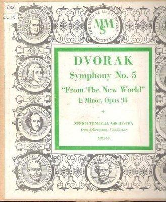 Ackermann, Otto / Dvorak: Symphony No. 5 in E Minor, Opus 95 -