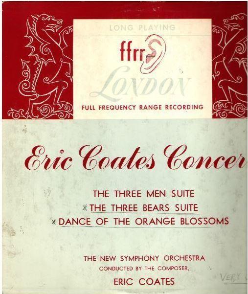 """Coates, Eric / Eric Coates Concert (1949) / London LPS.27 (Album, 10"""" Vinyl)"""
