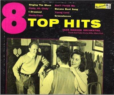Hansen, Jack / 8 Top Hits (1957) / Masterseal MTH-1 (Album, 10