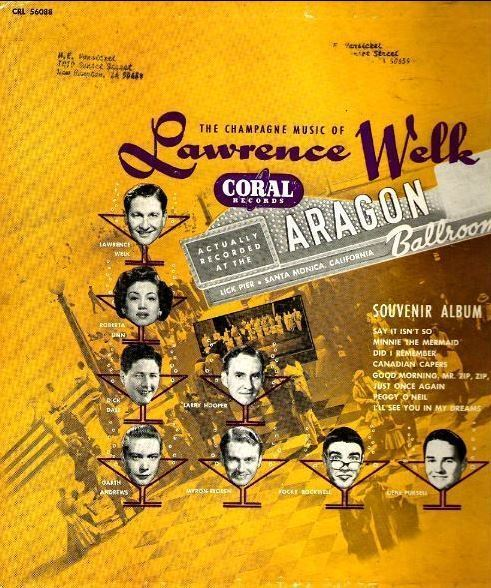 """Welk, Lawrence / Souvenir Album (1953) / Coral CRL-56088 (Album, 10"""" Vinyl)"""