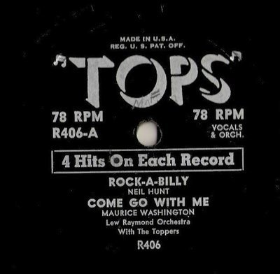Various Artists / Rock-A-Billy + 3 (1950's) / Tops R-406 (EP, 10