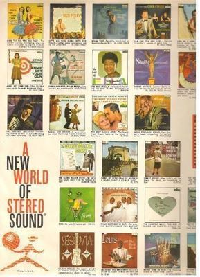 Decca / Color Pictures of 27 Decca albums / White, Red, Black, Color Pictures (Record Company Inner Sleeve, 12