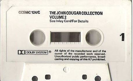 Mellencamp, John / The John Cougar Collection Volume 2 (1985) / Castle Communications CCSMC 124 (Cassette) / England