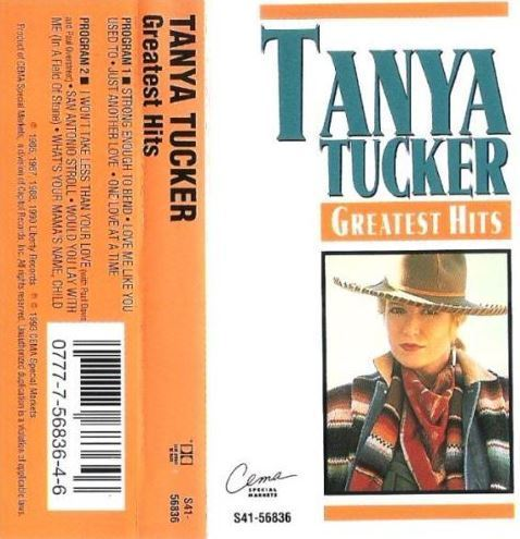 Tucker, Tanya / Greatest Hits (1993) / Cema Special Markets S41-56836 (Cassette)