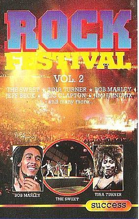 Various Artists / Rock Festival Vol. 2 / Success 2080 (Cassette) / Holland