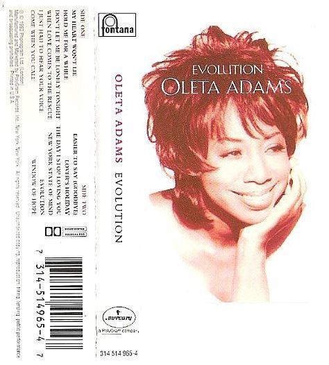 Adams, Oleta / Evolution (1993) / Fontana 314 514 965-4 (Cassette)
