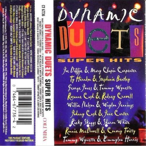 Various Artists / Dynamic Duets - Super Hits (1996) / Columbia CT-67736 (Cassette)
