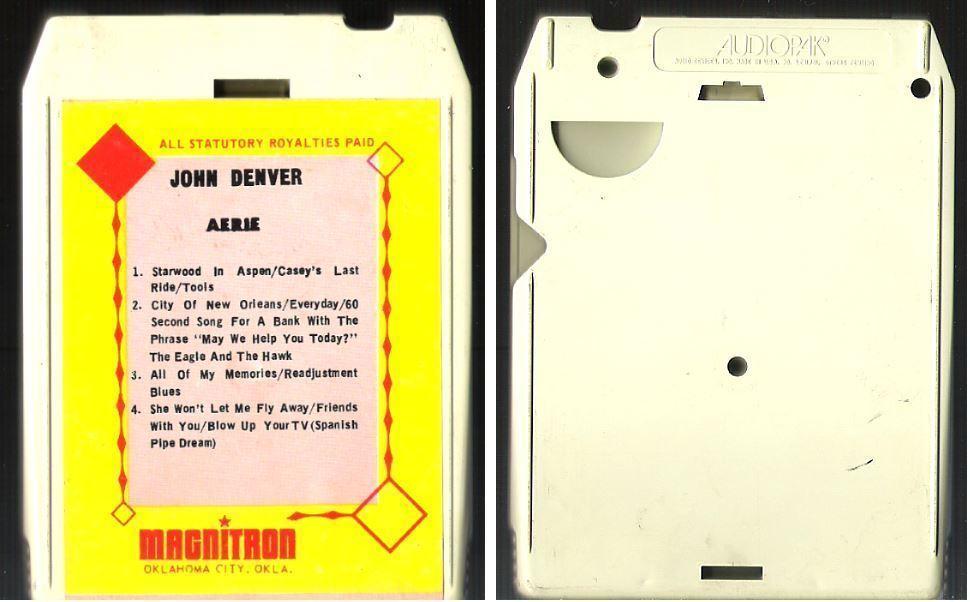 Denver, John / Aerie (1971) / Magnitron 211 (8-Track Tape)