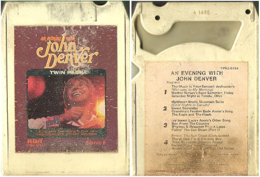 Denver, John / An Evening With John Denver (1975) / RCA CPS2-0764 / 8-Track Tape