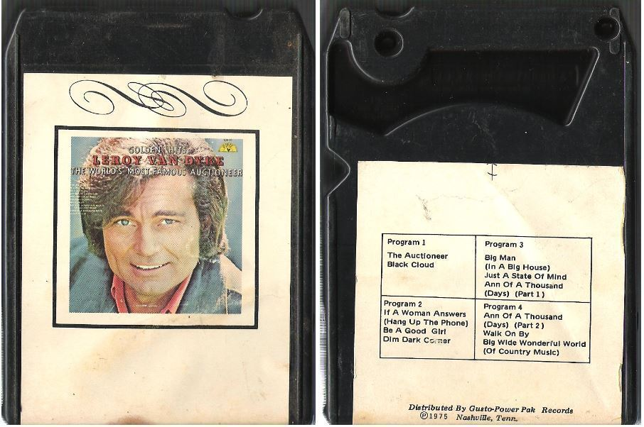 Van Dyke, Leroy / The World's Most Famous Auctioneer (1975) / Sun T-131 (8-Track Tape)
