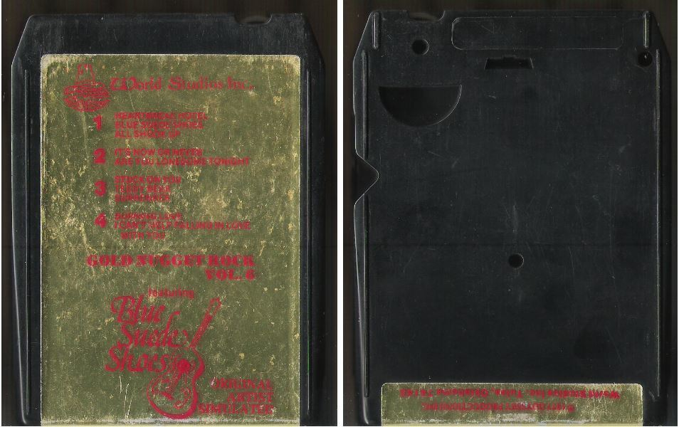Uncredited Artists / Gold Nugget Rock Vol. 6 (1977) / World Studios WS-506 (8-Track Tape)