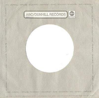 ABC-Dunhill / Gray, Light Gray, White (Record Company Sleeve, 7