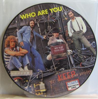 Who, The / Who Are You (1978) / Polydor WHOD-500403 (Album, 12 Inch, Picture Disc)