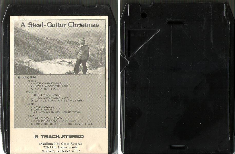 Baker, Jim / A Steel-Guitar Christmas (1974) / Power Pak PO-1506 (8-Track Tape)