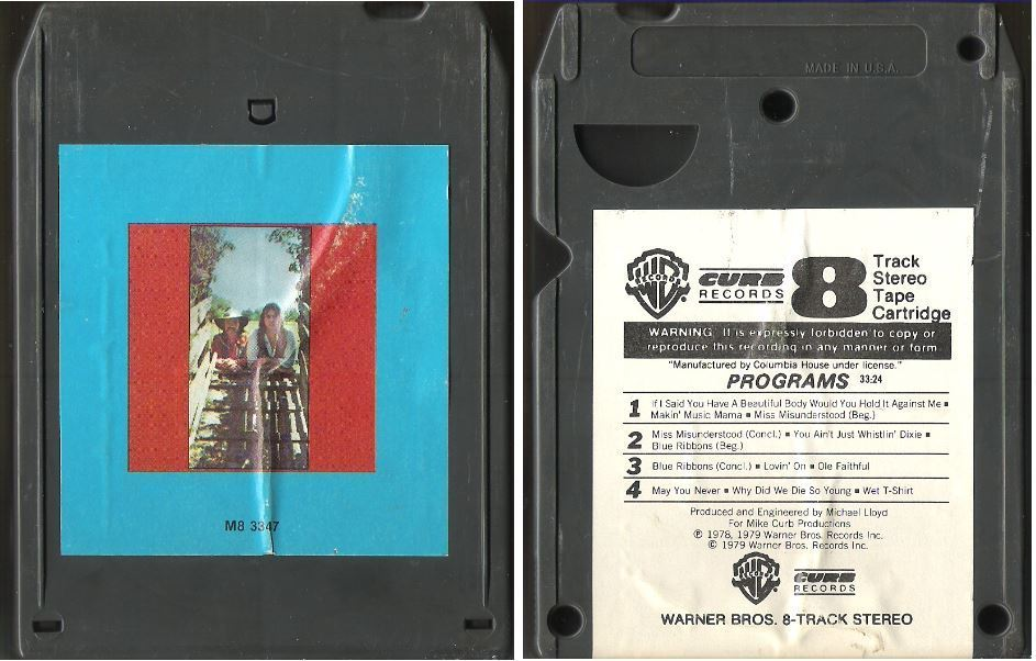 Bellamy Brothers, The / The Two and Only (1979) / Warner Bros.-Curb M8-3347 (8-Track Tape)