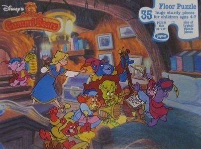 Gummi Bears / Disney's Gummi Bears Floor Puzzle (1985) / Jayman (Puzzle)