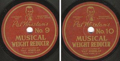 Wheelan, Pat / Pat Wheelan's Musical Weight Reducer No. 9 + 10 (1922) / Pat Wheelan 21887-2/21888-2 (Single, 7