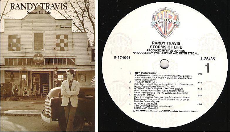 "Travis, Randy / Storms of Life (1986) / Warner Bros. 1-25435 (Album, 12"" Vinyl)"