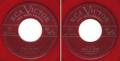 Iturbi, Jose / Ritual Fire Dance / RCA Victor (Red Seal) 49-1427 (Single, 7