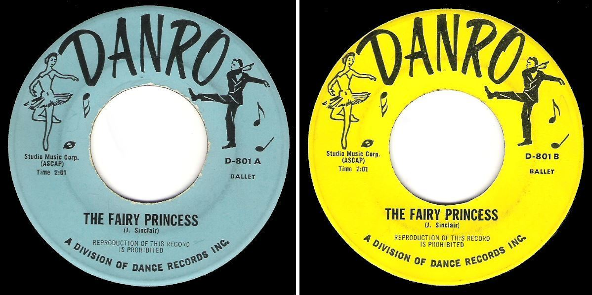"Uncredited / The Fairy Princess / Danro D-801 (Single, 7"" Vinyl)"