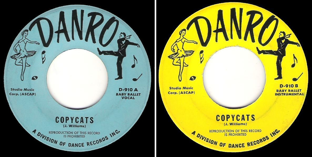 "Uncredited / Copycats / Danro D-910 (Single, 7"" Vinyl)"