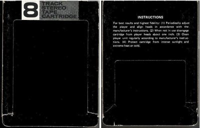 Generic / Black-Gray-White (8-Track Sleeve)