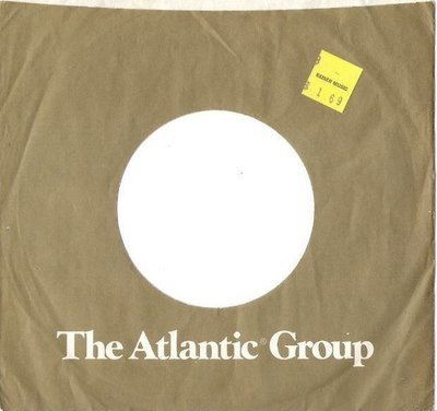 Atlantic / The Atlantic Group / Dark Gray with White Print (Record Company Sleeve, 7