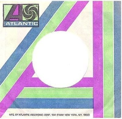 Atlantic / Logo on Upper Left Corner / White-Blue-Green-Purple-Dark Blue (Record Company Sleeve, 7
