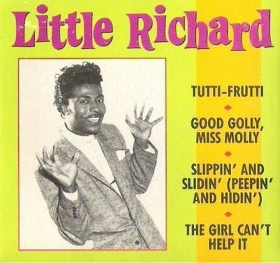 Little Richard / Tutti-Frutti + 3 (1988) / Rhino R3-73014 (CD Single)