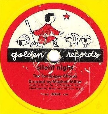 Sandpiper Chorus, The (+ Mitch Miller) / Silent Night / Golden LGR5 (Single, 6