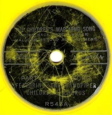 Sandpiper Children's Chorus / The Children's Marching Song / Golden R-545 (Single, 6