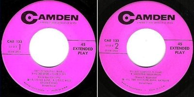 Dame, Donald / That's All + 3 (1954) / Camden CAE-133 (EP, 7