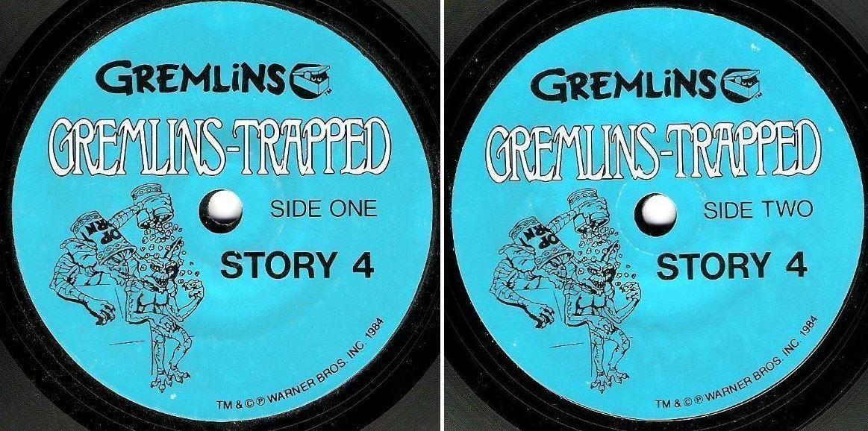"""Gremlins / Gremlins-Trapped - Story 4 (1984) / Warner Bros. 4044 (EP, 7"""" Vinyl)"""