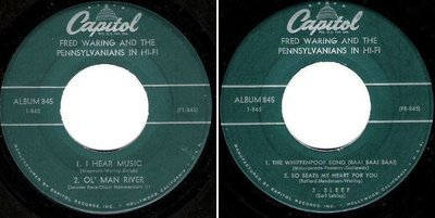 Waring, Fred (+ The Pennsylvanians) / In Hi-Fi (1957) / Capitol 1-845 (EP, 7