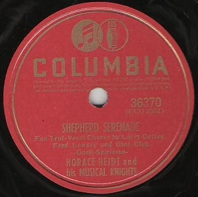 Heidt, Horace / Shepherd Serenade (1941) / Columbia 36370 (Single, 10