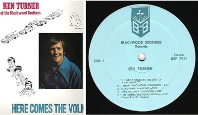 Turner, Ken / Here Comes the Volkswagen (1972) / Blackwood Brothers DRP-7211 (Album, 12