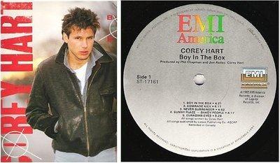 Hart, Corey / Boy In the Box (1985) / EMI America ST-17161 (Album, 12