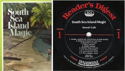 Various Artists / South Sea Island Magic (1968) / Reader's Digest RDA 67-A (Album, 12