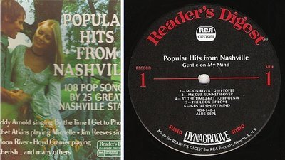 Various Artists / Popular Hits From Nashville (1972) / Reader's Digest RDA 140-A (Album, 12
