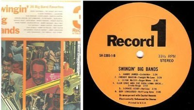 Various Artists / Swingin' Big Bands / Pickwick International SH-3305 (Album, 12