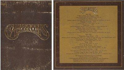 Carpenters / The Singles 1969-1973 / A+M SP-3601 | Album Cover (1973)