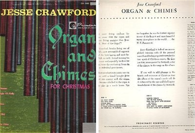 Crawford, Jesse / Organ and Chimes for Christmas / Promenade CH-1000 | Album Cover